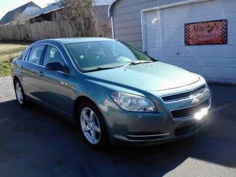 2009 Chevrolet Malibu for sale at Marty's Auto Sales in Lenoir City TN
