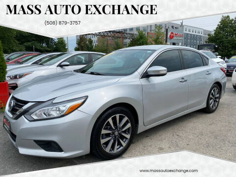 2017 Nissan Altima for sale at Mass Auto Exchange in Framingham MA