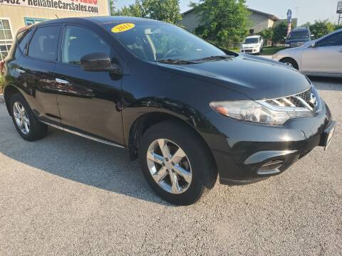 2011 Nissan Murano for sale at Reliable Cars Sales in Michigan City IN