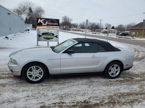2011 Ford Mustang for sale at KJ Automotive in Worthing SD
