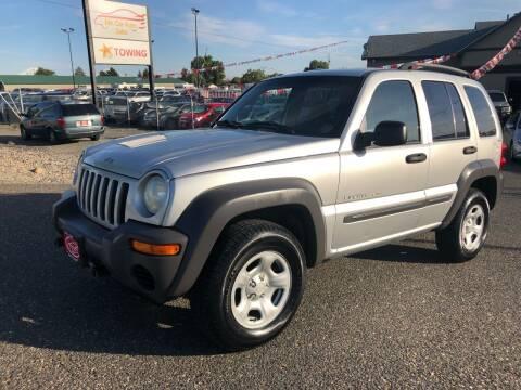 2002 Jeep Liberty for sale at Mr. Car Auto Sales in Pasco WA
