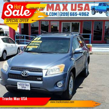 2009 Toyota RAV4 for sale at Trucks Max USA in Manteca CA