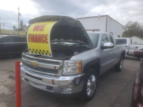 2012 Chevrolet Silverado 1500 for sale at J & J Used Cars inc in Wayne MI