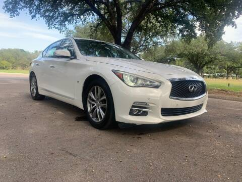 2014 Infiniti Q50 for sale at 210 Auto Center in San Antonio TX