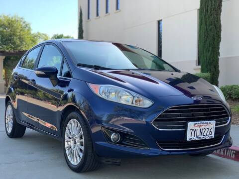 2016 Ford Fiesta for sale at Auto King in Roseville CA