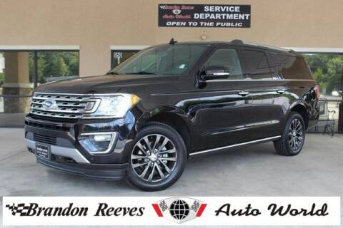 2019 Ford Expedition MAX for sale at Brandon Reeves Auto World in Monroe NC