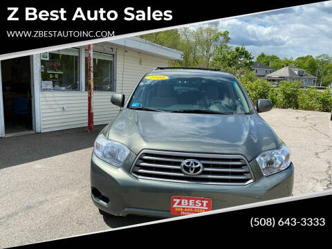 2010 Toyota Highlander for sale at Z Best Auto Sales in North Attleboro MA