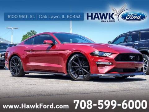 2019 Ford Mustang for sale at Hawk Ford of Oak Lawn in Oak Lawn IL