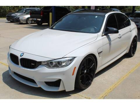 2017 BMW M3 for sale at Inline Auto Sales in Fuquay Varina NC
