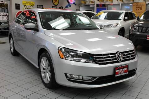 2013 Volkswagen Passat for sale at Windy City Motors in Chicago IL