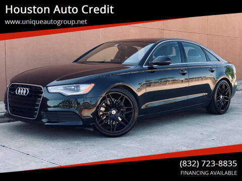 2014 Audi A6 for sale at Houston Auto Credit in Houston TX