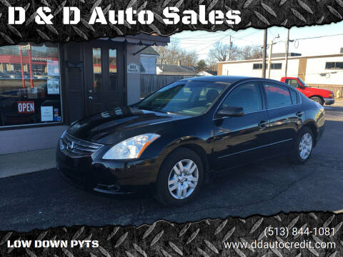 2010 Nissan Altima for sale at D & D Auto Sales in Hamilton OH