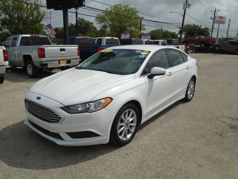 2017 Ford Fusion for sale at BAS MOTORS in Houston TX