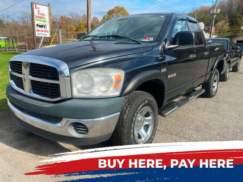 2008 Dodge Ram Pickup 1500 for sale at WINNERS CIRCLE AUTO EXCHANGE in Ashland KY