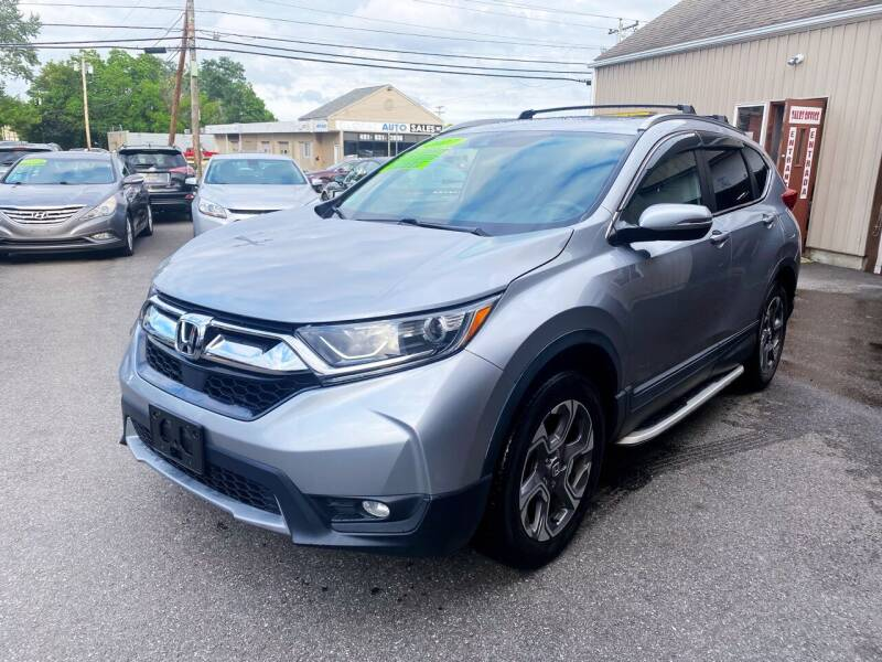 2017 Honda CR-V for sale at Dijie Auto Sale and Service Co. in Johnston RI