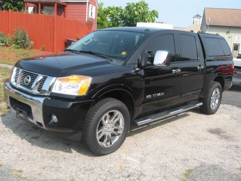 2014 Nissan Titan for sale at Joks Auto Sales & SVC INC in Hudson NH