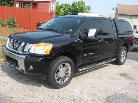 2014 Nissan Titan for sale at Joks Auto Sales & SVC INC in Hudson NH