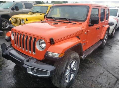 2020 Jeep Wrangler Unlimited for sale at FAST LANE AUTOS in Spearfish SD