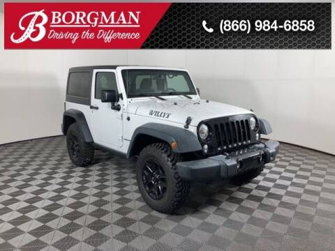 2017 Jeep Wrangler for sale at BORGMAN OF HOLLAND LLC in Holland MI