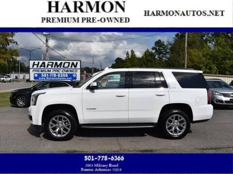 2017 GMC Yukon for sale at Harmon Premium Pre-Owned in Benton AR