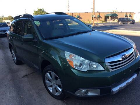 2010 Subaru Outback for sale at AROUND THE WORLD AUTO SALES in Denver CO