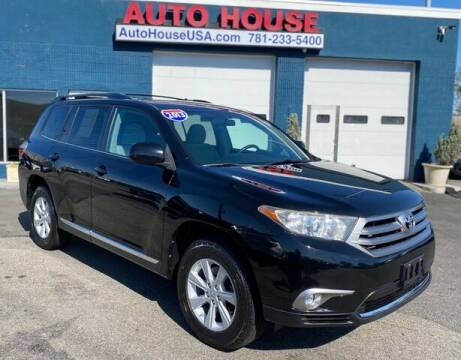 2013 Toyota Highlander for sale at Saugus Auto Mall in Saugus MA