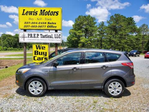 2013 Ford Escape for sale at Lewis Motors LLC in Deridder LA