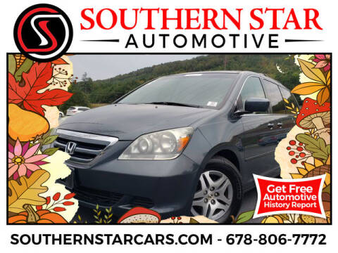 2006 Honda Odyssey for sale at Southern Star Automotive, Inc. in Duluth GA