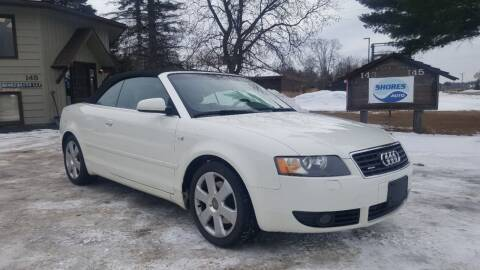 2004 Audi A4 for sale at Shores Auto in Lakeland Shores MN
