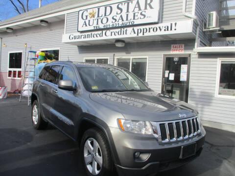 2012 Jeep Grand Cherokee for sale at Gold Star Auto Sales in Johnston RI