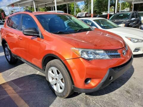 2015 Toyota RAV4 for sale at America Auto Wholesale Inc in Miami FL