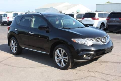 2012 Nissan Murano for sale at LJ Motors in Jackson MI