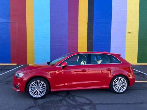 2018 Audi A3 Sportback e-tron for sale at JOSE MESA AUTO WHOLESALE , LLC in Portland OR