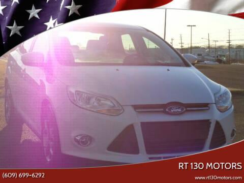 2014 Ford Focus for sale at RT 130 Motors in Burlington NJ