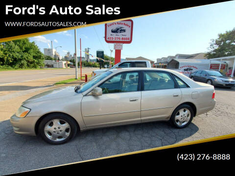 2003 Toyota Avalon for sale at Ford's Auto Sales in Kingsport TN