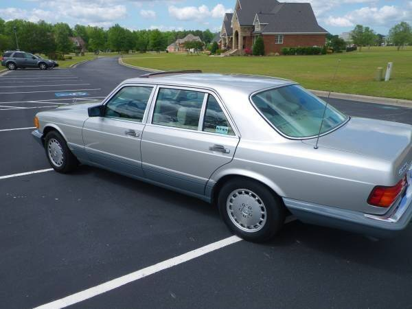 1987 Mercedes-Benz 420-Class for sale in Cadillac, MI