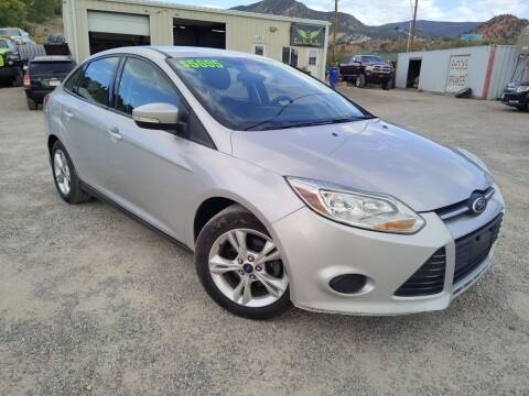 2014 Ford Focus for sale at Canyon View Auto Sales in Cedar City UT