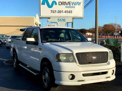 2008 Ford F-150 for sale at Driveway Motors in Virginia Beach VA