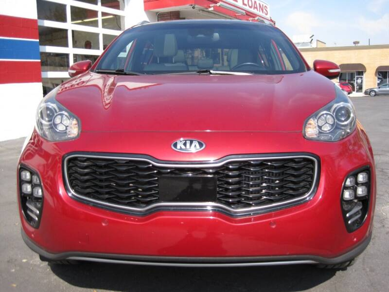 2017 Kia Sportage AWD SX Turbo 4dr SUV - Bountiful UT