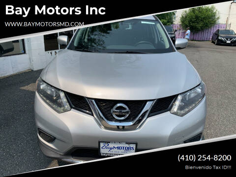 2016 Nissan Rogue for sale at Bay Motors Inc in Baltimore MD