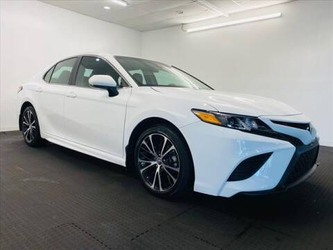 2018 Toyota Camry for sale at Champagne Motor Car Company in Willimantic CT