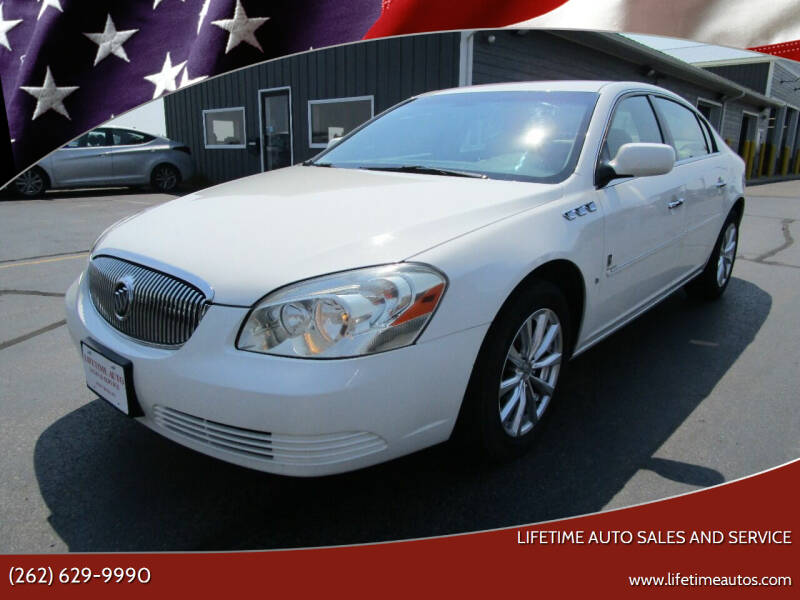 2007 Buick Lucerne for sale at Lifetime Auto Sales and Service in West Bend WI