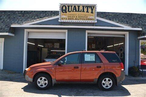 2003 Saturn Vue for sale at Quality Pre-Owned Automotive in Cuba MO