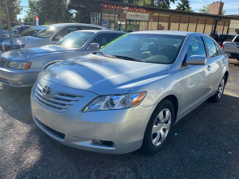 2007 Toyota Camry for sale at Exotic Motors in Redmond WA