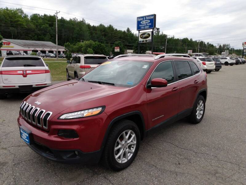 2017 Jeep Cherokee for sale at Ripley & Fletcher Pre-Owned Sales & Service in Farmington ME