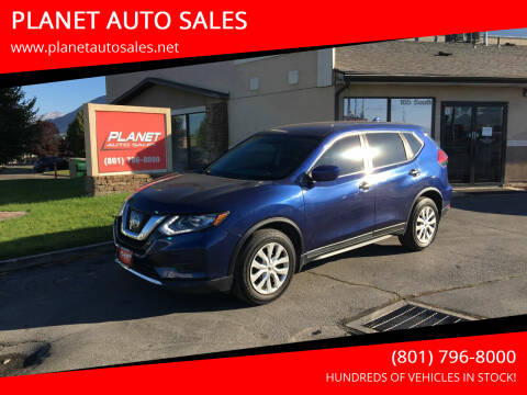 2017 Nissan Rogue for sale at PLANET AUTO SALES in Lindon UT