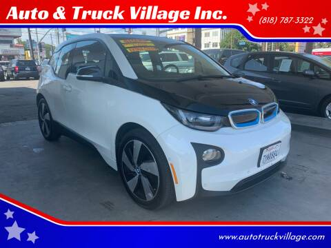 2017 BMW i3 for sale at Auto & Truck Village Inc. in Van Nuys CA