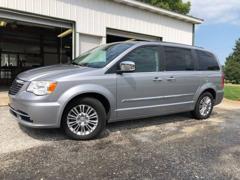 2014 Chrysler Town and Country for sale at Purpose Driven Motors in Sidney OH