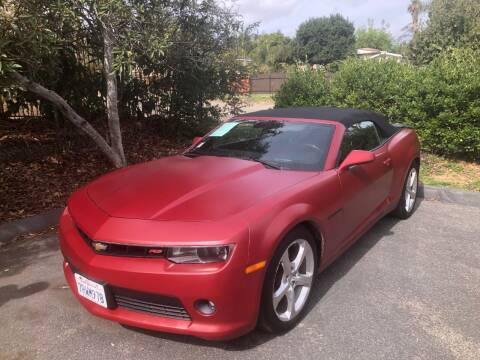 2015 Chevrolet Camaro for sale at North Coast Auto Group in Fallbrook CA