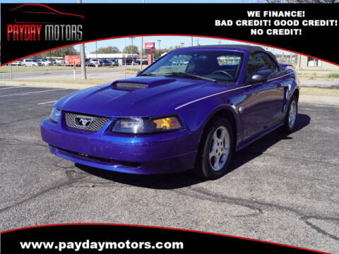 2004 Ford Mustang for sale at Payday Motors in Wichita And Topeka KS